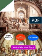 V. ÉTICA Y POLÍTICA. ÉTICA Y VIDA. V PERÍODO.2015-2016.ppt