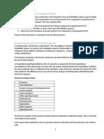 Profitability Analysis in Simple Finance