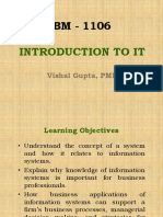 Session 1 Introduction to I.T. 3.0