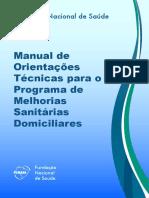 Manual Melhorias Sanitárias Domiciliares FUNASA