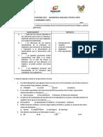 Evaluacion Disciplinar 2019 Biologiaii