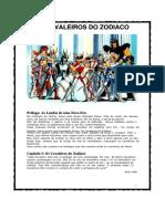 RPG - eBook - Cavaleiros Do Zodiaco