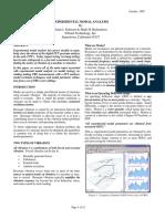 Experimental Mod Al Analysis
