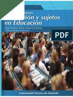 31 Desarrollo Humano Formacion y Sujeto en Educacion