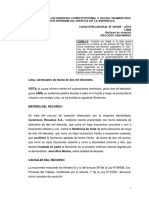 CAS LAB 20428-2016-Lima~ Falta grave incumplimiento de funciones se refiere al incumplimiento de las labores asignadas en la empresa