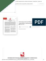 (DOC) Determinación de Sólidos Suspendidos Totales, Suspendido,y Sedimentables. _ Santiago Reyes - Academia.edu