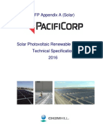 RFP App a Solar Technical Specification