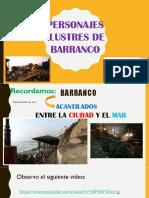Personajes Ilustres - Barranco