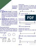 Segmentos Explicaciones y Ejercicios Resueltos de Geometría Pre PDF