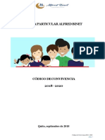 CODIGO de CONVIVENCIA Alfred Binet 2018 - 2020 Revisado-convertido