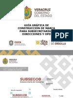 Guía Gráfica de Construcción de Marca Para Subsecretarías Direccciones y OPD