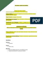 Planeación de La Secuencia Didáctica Ivan 5c
