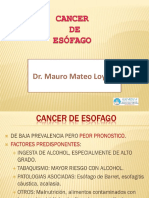 Tema 44; Cancer de Esofago