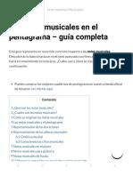 ▷ Las Notas Musicales en el Pentagrama – Guía Completa
