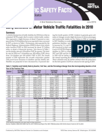Early Estimate of Motor Vehicle Traffic Fatalities in 2018