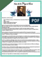 Garcilaso de La Vega El Inca Biografia