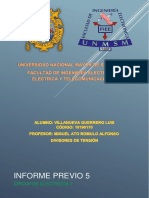 INFORME PREVIO 5 - Divisores de Tensiòn