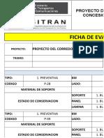 FICHA  SEÑALIZACION KM 141+000 AL 146+000