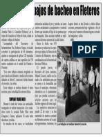 15-06-19 Supervisa trabajos de bacheo en Fleteros
