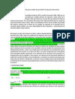 Guía de profesionales para modelos de gravedad de la migración internacional