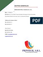Catalogo Printech