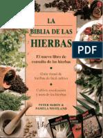 la biblia de las hierbas