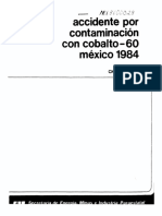 Cobalto 60 | Mexicanos estuvieron expuestos a altos niveles de radiación en 1983