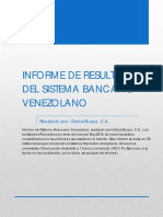 Informe Sistema Financiero Venezolano Mayo 2019