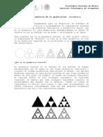 1.3. Aspectos Matemáticos de La Graficación. (Geometría Fractal)