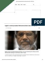 Egypt's ousted president Mohammed Morsi dies during trial - BBC News.pdf