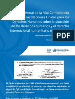 Informe Anual Naciones Unidas