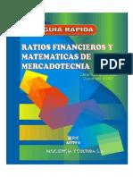 Libro ACHING Ratios Financieros y Matematicas de La Mercadotecnia