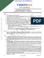 Vision IAS CSP 2019 Test 35 Solutions