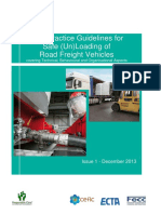 Bp Guidelines Safe Loading Unloading of Road Freight Vehicles