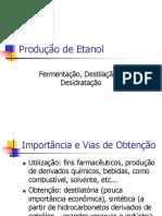 Produção etanol