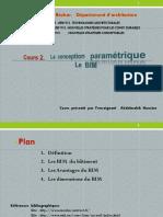 2.Cours 2. La Conception Paramétrique