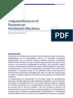Traqueostomia en El Paciente en Ventilacion Mecanica