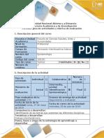 EPISTEMOLOGIA Guía de Actividades y Rúbrica de Evaluación-Fase 3- Identificar Diálogo de Saberes