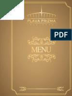 Menu PDF Prizma