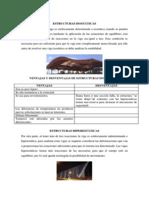 Estructuras Isostáticas Física Y Matemáticas Física