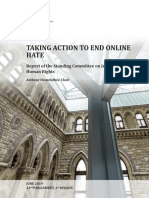 Taking Action to End Online Hate