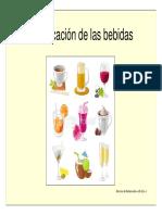 Clasificación de Las Bebidas. Servicios de Restauración---( Abz)---1