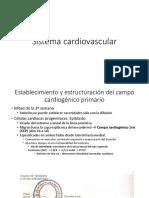 1. MEDICINA EMBRIOLOGÍA Sistema Cardiovascular