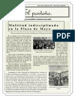 Diario del 18 de octubre de 1945