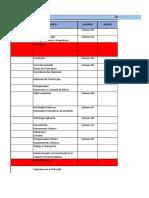 Cronograma Prefeitura Joinville