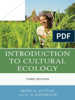 Mark Q. Sutton, E. N. Anderson - Introduction to Cultural Ecology-AltaMira Press (2013)
