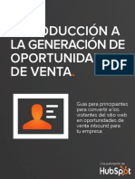 [SPANISH] an Introduction to Lead Generation