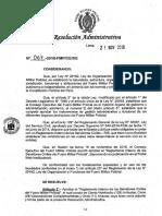 Reglamento Interno de Servidores Civiles Del Fmp
