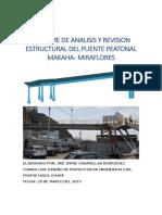 Informe de Analisis y Revision Estructural Del Puente Makaha