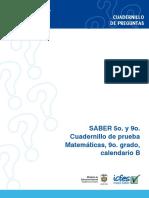 Prueba Matematica9 Calendario(b)2009